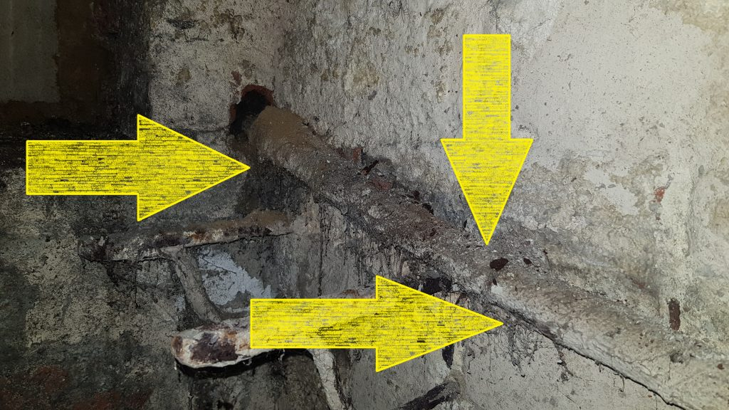 Poor Condition Of Service Cable - Electrical Inspection