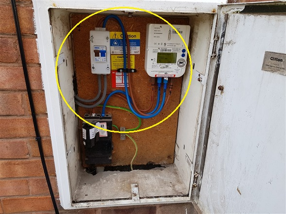Condition Of Meter Tails
