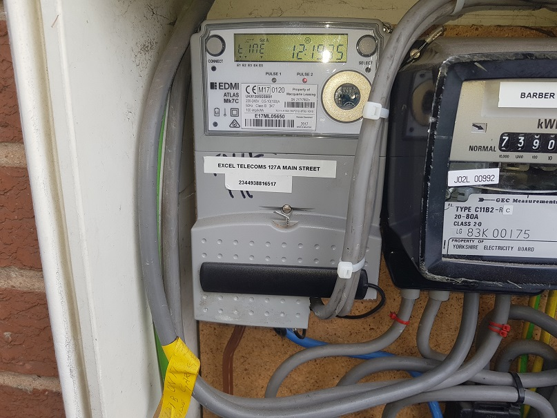 Checking Condition Of Electric Metering Equipment